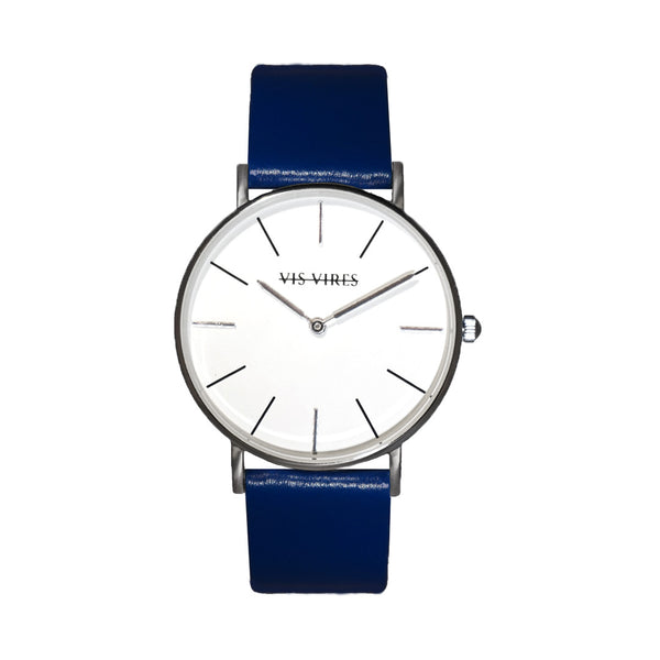 Ocean Blue Silver Watch 36mm Vis Vires