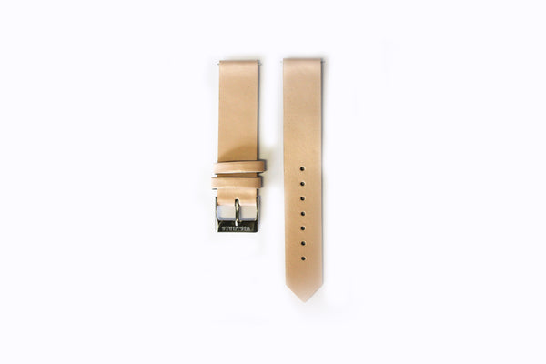 True Nude Strap Silver Buckle