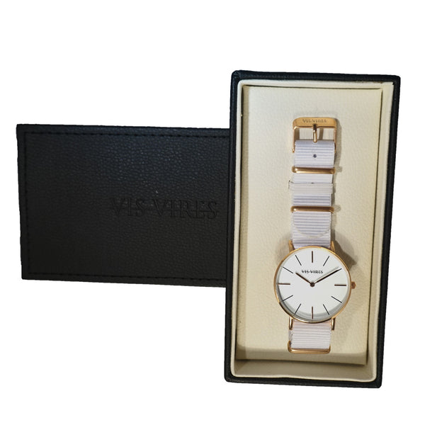 Vis Vires Wentworth Watch 40mm Man Rose Gold
