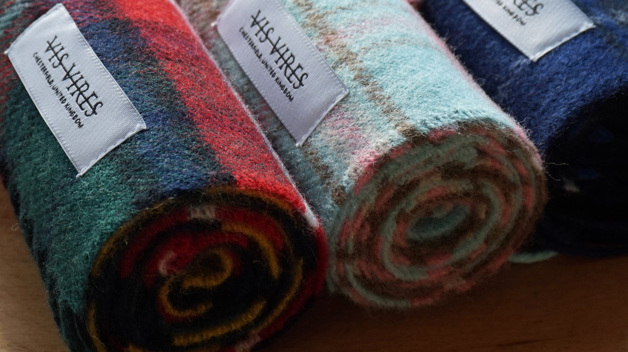 THE HIGHLANDS SCARF COLLECTION