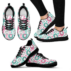 Tooth Pattern DH Sneakers