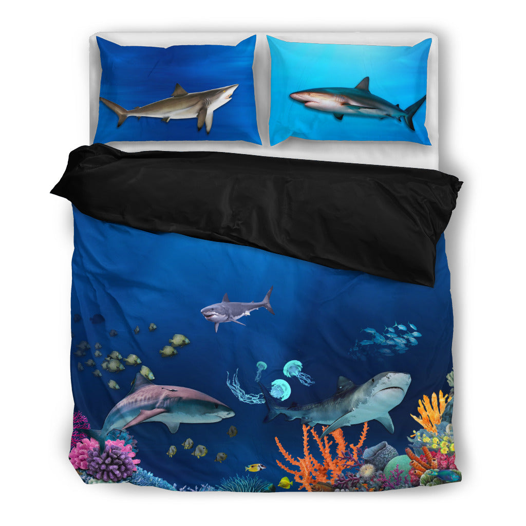 Shark 4 Duvet Bedding Set