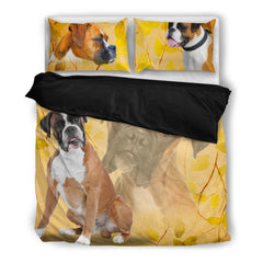 Boxer 4 Duvet Bedding Set Black