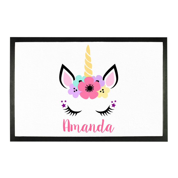 Unicorn Sublimation Doormat