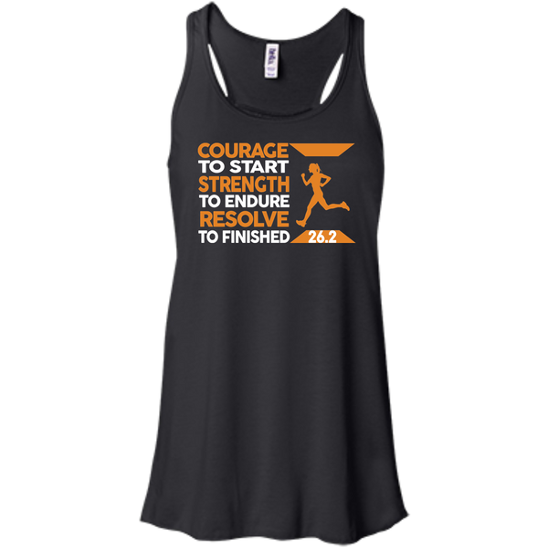 26.2 Courage To Start Full Marathon T-shirt