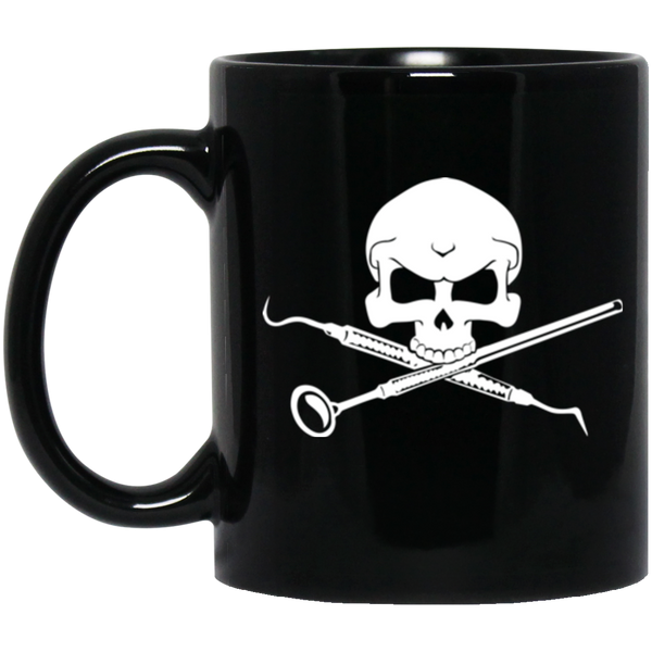 Crossbones Dental Hygienist Men's Coffee Mug
