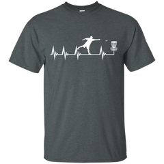 Disc Golf Heartbeat T-shirt