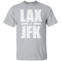 LAX to JFK Travel T-shirt