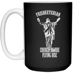 Frisbeeterian Church Of The Flying Disc Mug