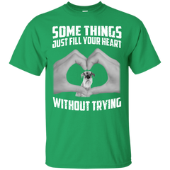 Some Things Just Fill Your Heart Without Trying Schnauzer Love T-shirt