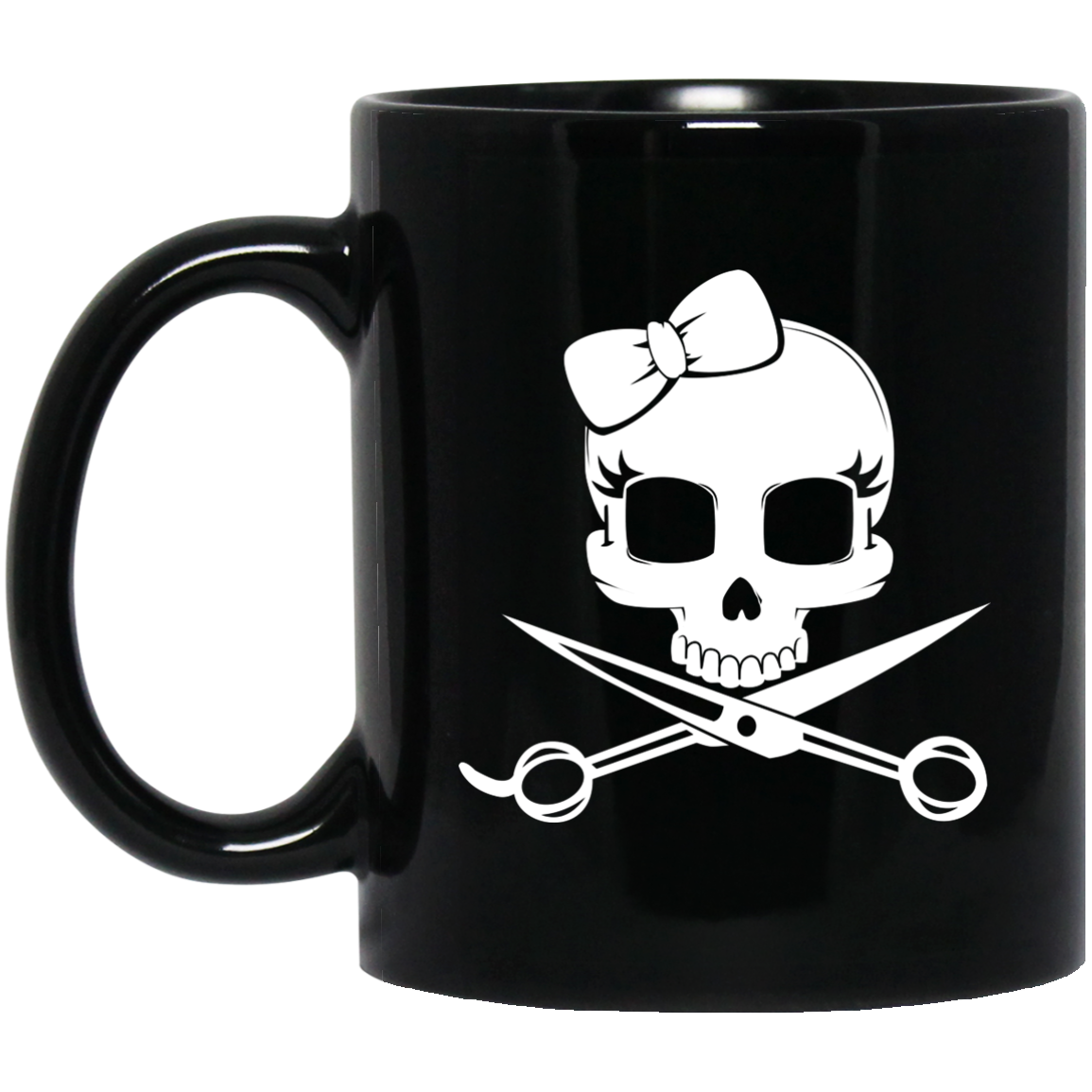 Crossbones Hairstylist Coffee Mug