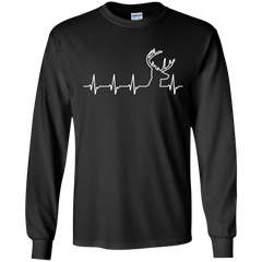 Deer Hunting Heartbeat Sweatshirt