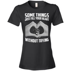Some Things Just Fill Your Heart Without Trying Rottweiler Love T-shirt