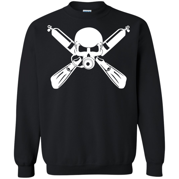 Scuba Diving Crossbones Sweatshirt
