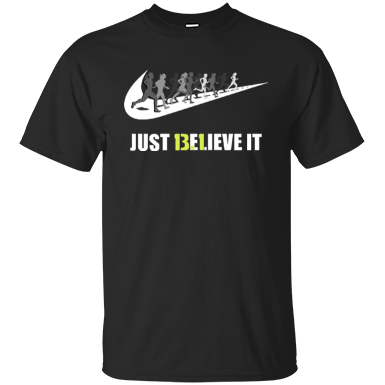 13.1 Just Believe It Half Marathon Men's T-shirt