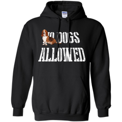 Dogs Allowed Basset Hound T-shirt