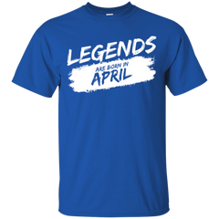 Legends Are Born in April T-shirt