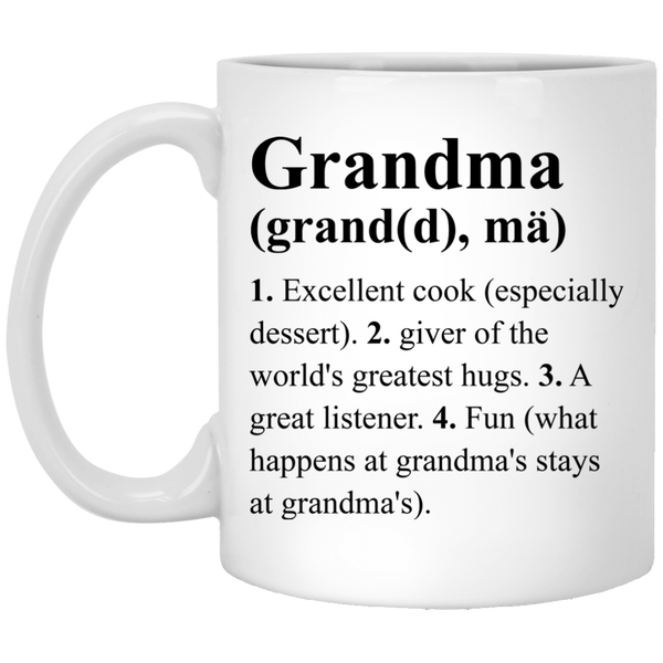 Grandma Definition Coffee Mug