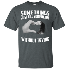 Some Things Just Fill Your Heart Without Trying Cat Love T-shirt