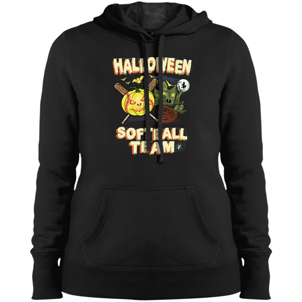 Softball Halloween Hoodie and T-shirt