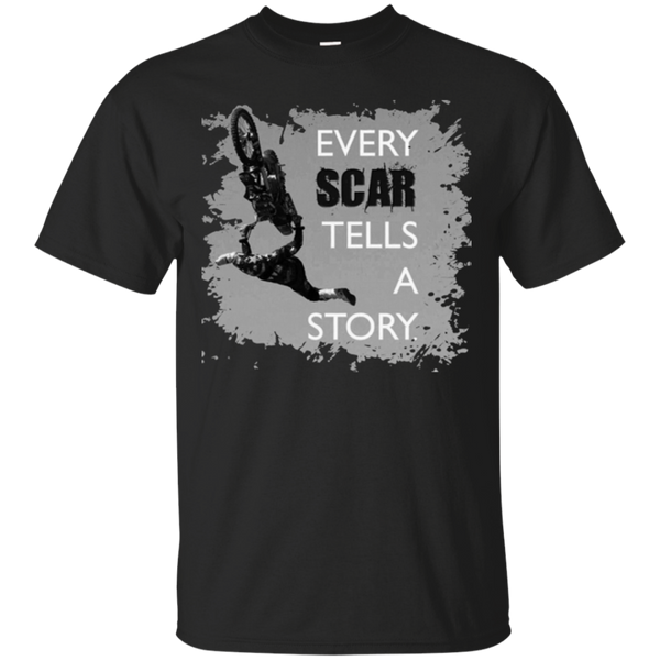Every Scar Tells a Story Motocross T-shirt