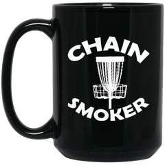 Chain Smoker Disc Golf Coffee Mug