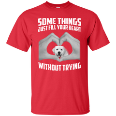 Some Things Just Fill Your Heart Without Trying Labrador Love T-shirt