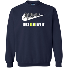 13.1 Just Believe It Half Marathon Men's Hoodie