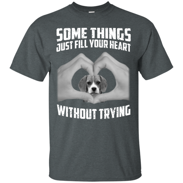 Some Things Just Fill Your Heart Without Trying Beagle Love T-shirt