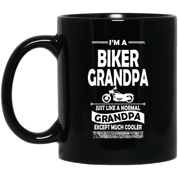 I'm A Biker Grandpa Just Like A Normal Grandpa Except Much Cooler Coffee Mug