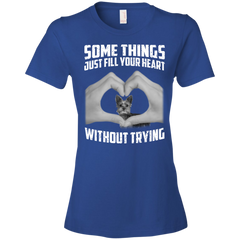 Some Things Just Fill Your Heart Without Trying Yorkshire Terrier Love T-shirt