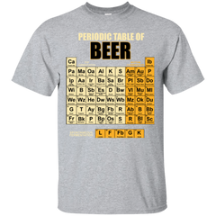 Periodic Table Of Beer T-shirt