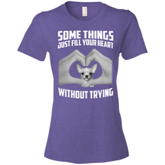 Some Things Just Fill Your Heart Without Trying Chihuahua Love T-shirt