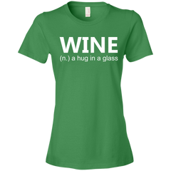 Wine A Hug in a Glass T-shirt
