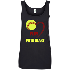 Play With Heart Softball T-shirt