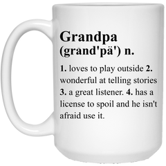 Grandpa Definition Coffee Mug