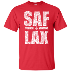 SAF to LAX Travel T-shirt