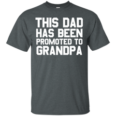 This Dad Has Been Promoted To Grandpa T-shirt