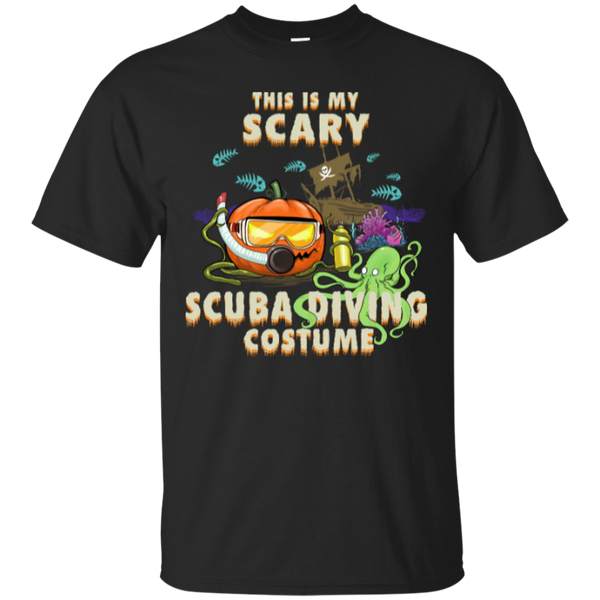 Scuba Diving Halloween Men's T-shirt