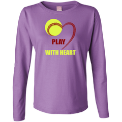 Play With Heart Softball Hoodie