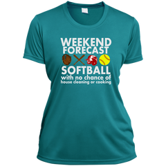 Weekend Forecast Softball Hoodie