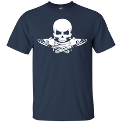 Snowmobile Crossbones Shirts