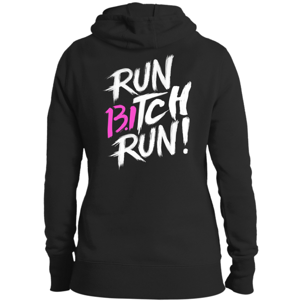 13.1 Half Marathon Run Bitch Run Hoodie