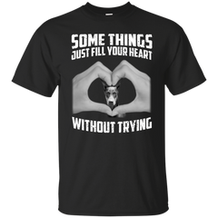 Some Things Just Fill Your Heart Without Trying Doberman Love T-shirt