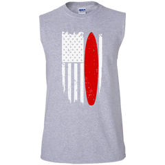 Surfing US Flag T-shirt