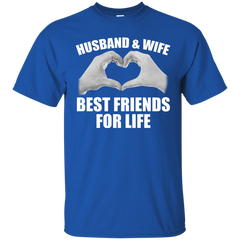 Husband & Wife Best Friends For Life T-shirt