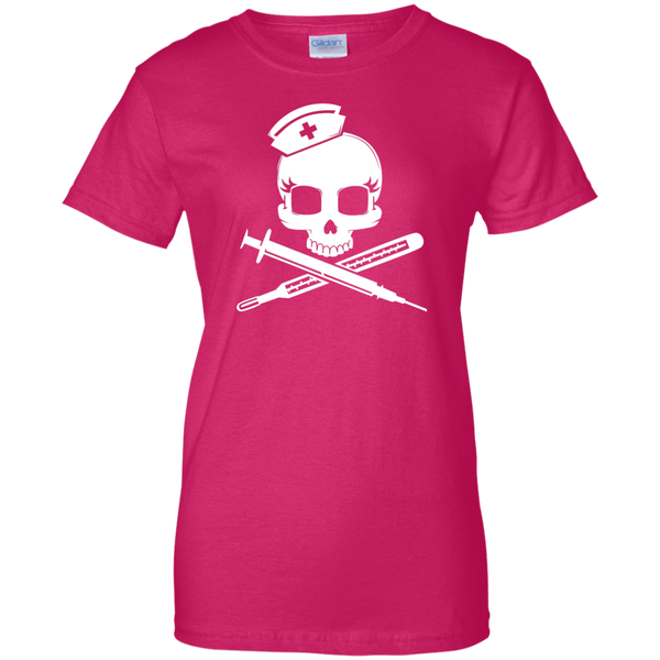 Crossbones Nurse T-shirt