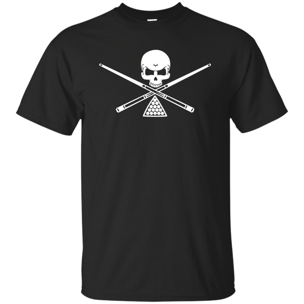 Pool Billiards Crossbones T-shirt