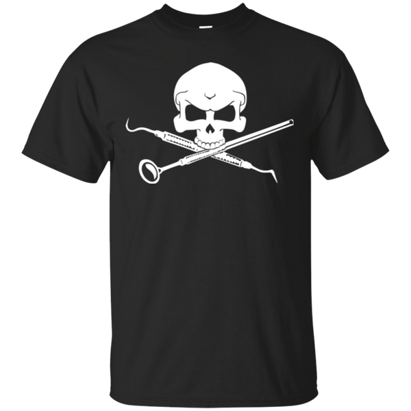 Crossbones Dental Hygienist Men's T-shirt