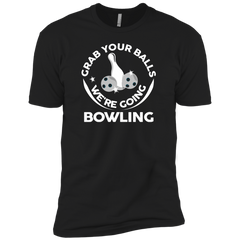 Grab Your Balls Bowling Next Level T-shirt
